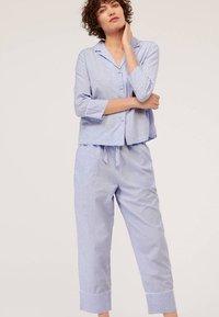 OYSHO - Haut de pyjama - blue - 1