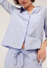 OYSHO - Haut de pyjama - blue - 4