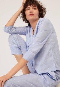 OYSHO - Haut de pyjama - blue - 5