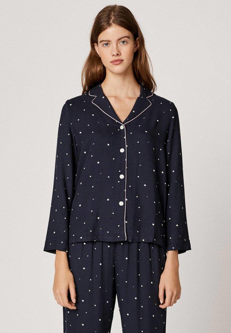 OYSHO - Pyjama top - dark blue