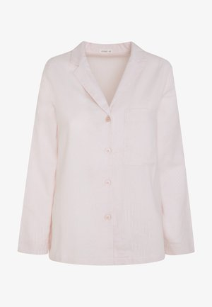 MIT STREIFENPRINT - Pyjama top - rose