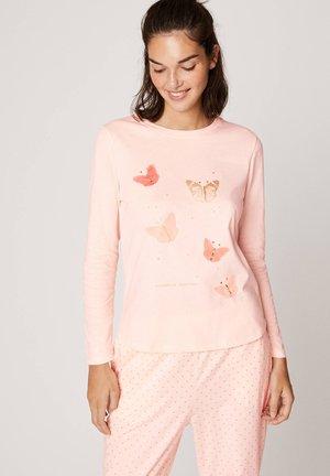 MIT SCHMETTERLINGEN - Pyjama top - rose