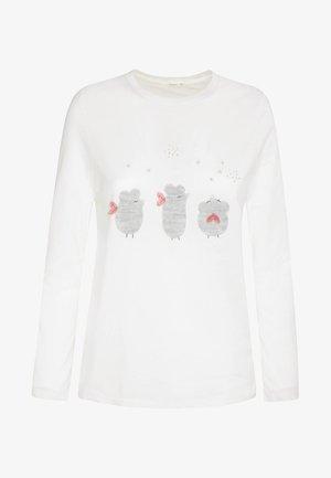 MIT MÄUSCHEN  - Koszulka do spania - white