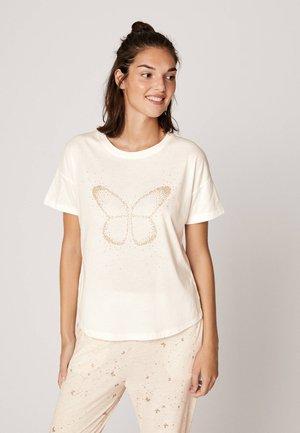 SLIM FIT - Maglia del pigiama - white