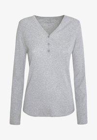 OYSHO - APPAREL - Langærmede T-shirts - light grey - 5