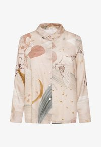OYSHO - MIT KOLIBRIPRINT  - Maglia del pigiama - multi coloured - 5