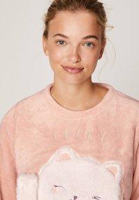 OYSHO - LUCKY CAT - Maglia del pigiama - rose - 3