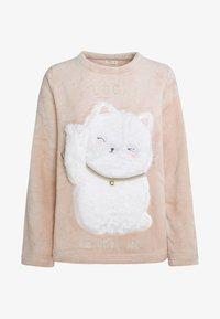 OYSHO - LUCKY CAT - Maglia del pigiama - rose - 5