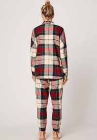 OYSHO - SLIM FIT - Maglia del pigiama - red - 2