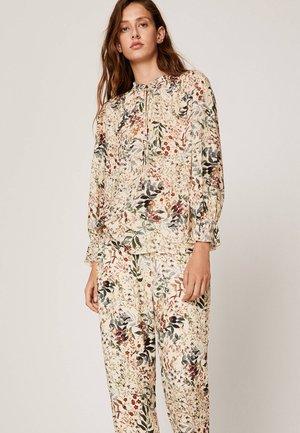 MIT ZARTEM BLUMENPRINT  - Pyjama top - beige