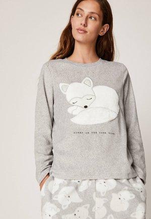 Koszulka do spania - light grey