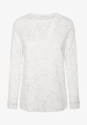 MIT STERNEN - Koszulka do spania - white