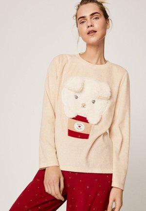 Maglia del pigiama - beige