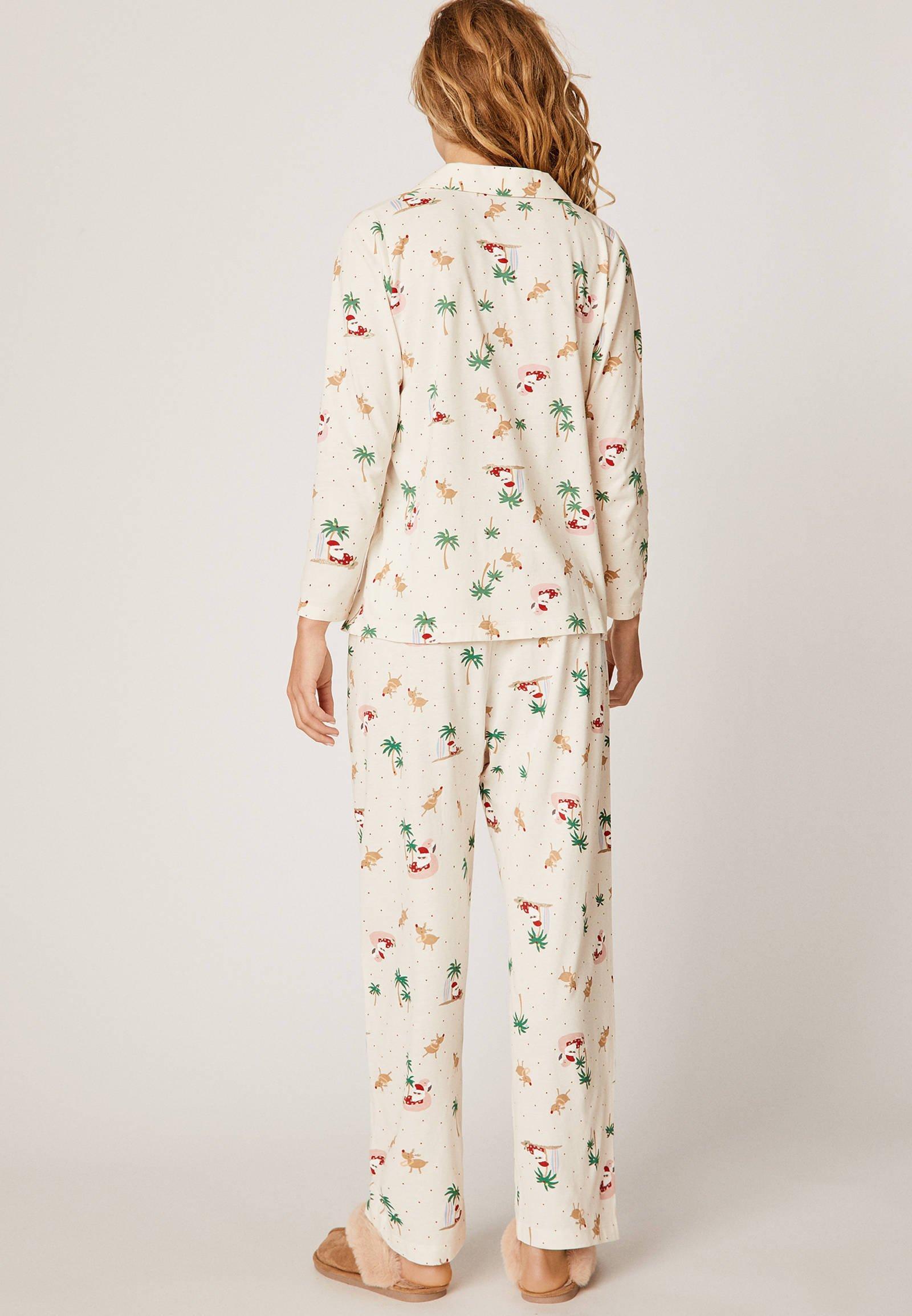 Oysho Pyjamashirt White uBe1ULRh