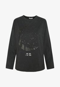 OYSHO - MIT KOSMISCHEM MOND  - Pyjamasöverdel - black - 5