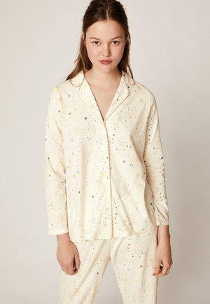 MIT METALLICGARN  - Pyjama top - white