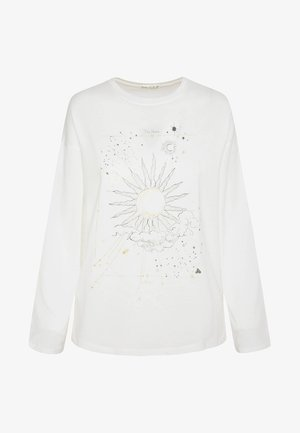 MIT STERNENKARTE  - Koszulka do spania - white