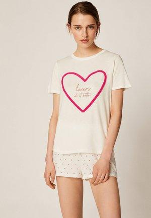 LOVE - Pyžamový top - white