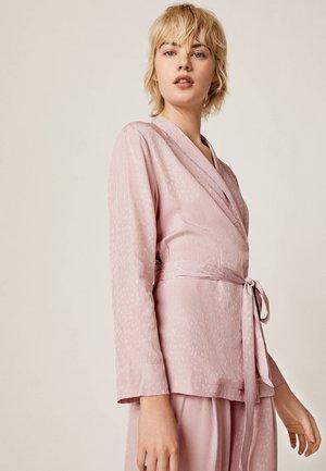 MIT FLECKENPRINT - Pyžamový top - pink