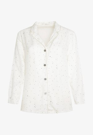 MIT STERNBILDERN - Haut de pyjama - white