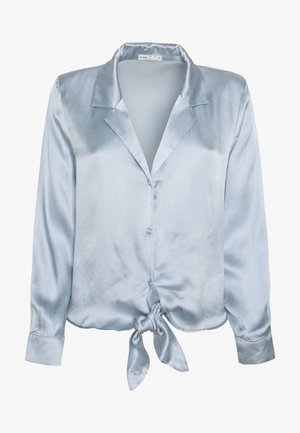 EINFARBIG BLAUES OBERTEIL  - Maglia del pigiama - light blue