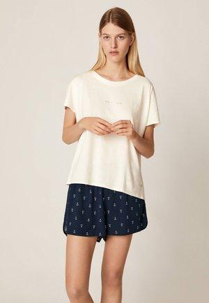 MIT ANKER - Pyžamový top - white