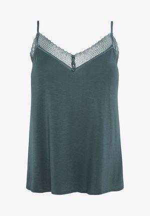 TOP IM DESSOUS-LOOK MIT GEOMETRISCHER SPITZE 30212697 - Pyjamashirt - turquoise