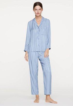 OBERTEIL MIT BLAUEN STREIFEN 31082171 - Pyžamový top - light blue