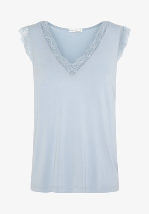 MIT SPITZE - Maglia del pigiama - light blue