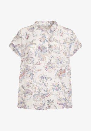 MIT BUNTEM PAISLEY-PRINT - Pyjamashirt - white