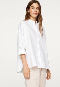 OYSHO - Button-down blouse - white - 1