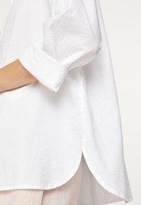 OYSHO - Button-down blouse - white - 4