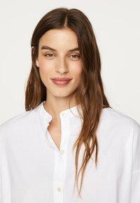 OYSHO - Button-down blouse - white - 3