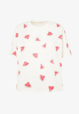 WATERMELON SHORT-SLEEVED T-SHIRT 30259786 - Pyjama top - white