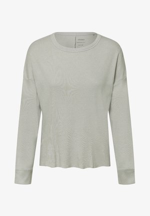 GREEN COTTON - Pyjama top - light grey