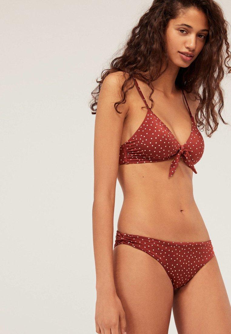OYSHO - Bikini-Hose - bordeaux