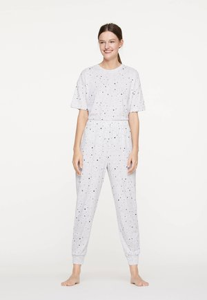 HOSE MIT STERNCHEN 30325084 - Bas de pyjama - light grey