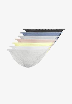 7 KLASSISCHE SLIPS MIT BANDDETAIL 32029567 - Briefs - multi-coloured