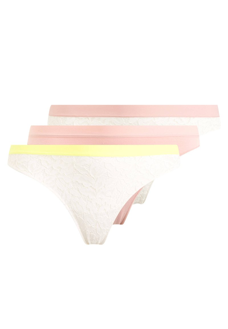 OYSHO - 3 PACK - Tanga - multi-coloured