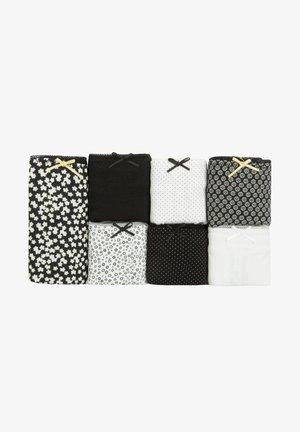 7 DAISY CLASSIC - Kalhotky - black