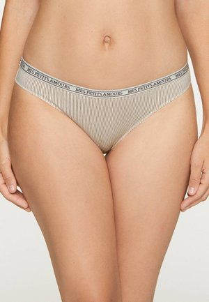 3-PACK - Slip - brown