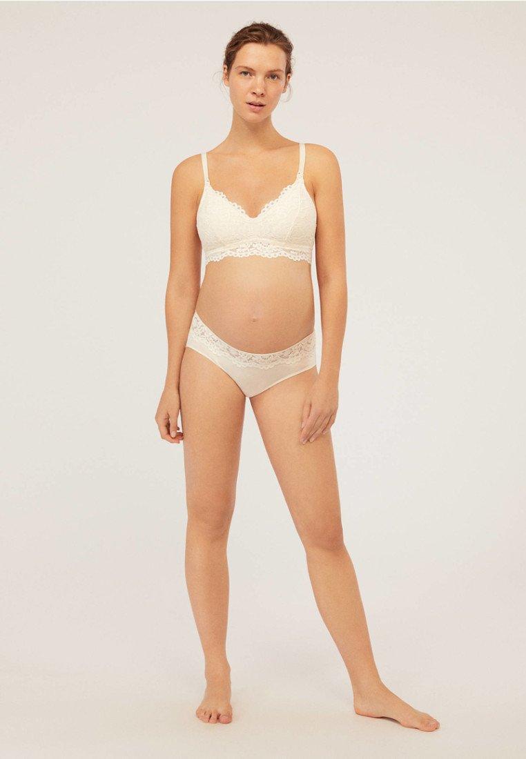 OYSHO - Kaarituettomat rintaliivit - white