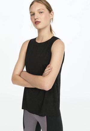 SANITIZED® ODORACTIV  - Funkční triko - black
