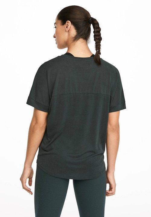 85% ZNIŻKI OYSHO_SPORT MIT AUFSCHRIFT - T-shirt z nadrukiem - grey Koszulki i Topy DBEB-BR5