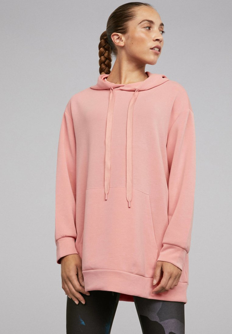 OYSHO_SPORT - NORMAL - Kapuzenpullover - rose