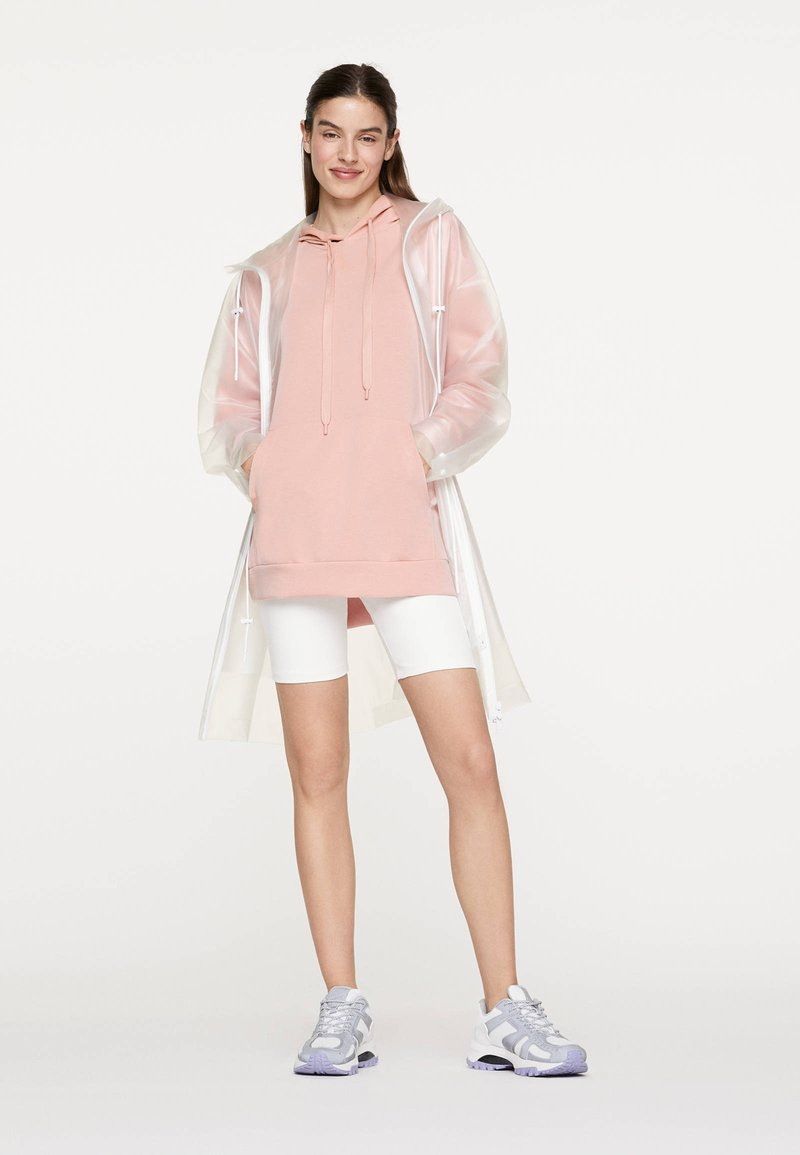 OYSHO_SPORT - NORMAL - Bluza z kapturem - rose
