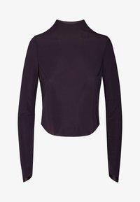 OYSHO_SPORT - Pitkähihainen paita - dark purple - 6