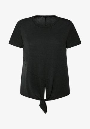 MIT KNOTEN - T-shirt imprimé - evergreen
