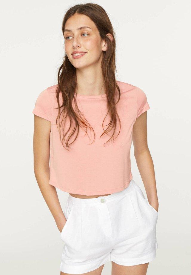 MIT ANTEIL - Jednoduché triko - rose
