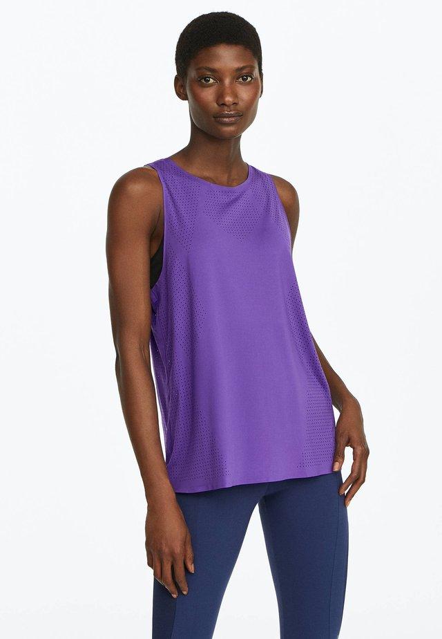 FUNKTIONS - Sports shirt - dark purple